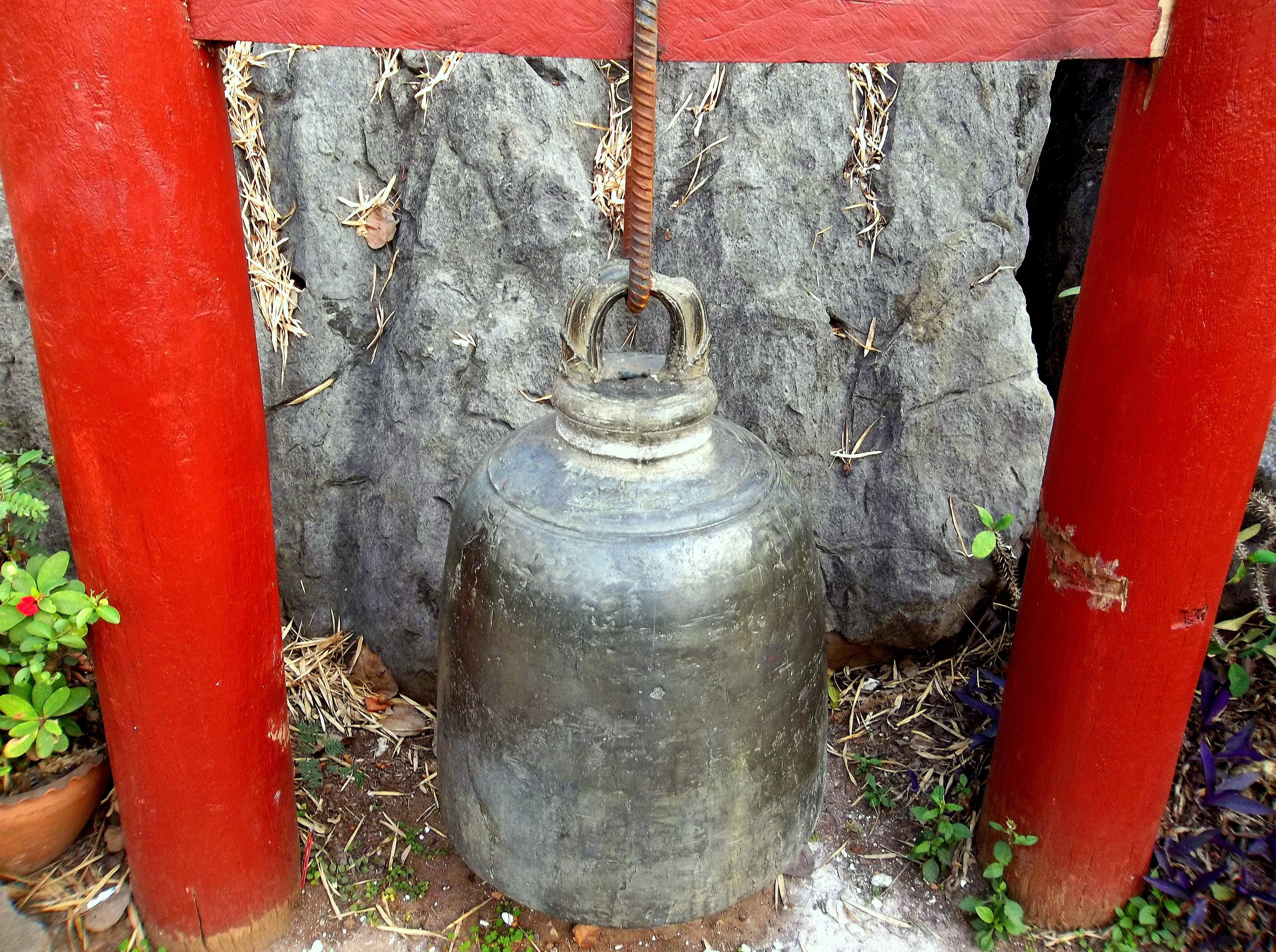 Mount Phousi -Bells are/ were for Signalling Time & Alarm & Used during Festivals, Luang Prabang, Laos