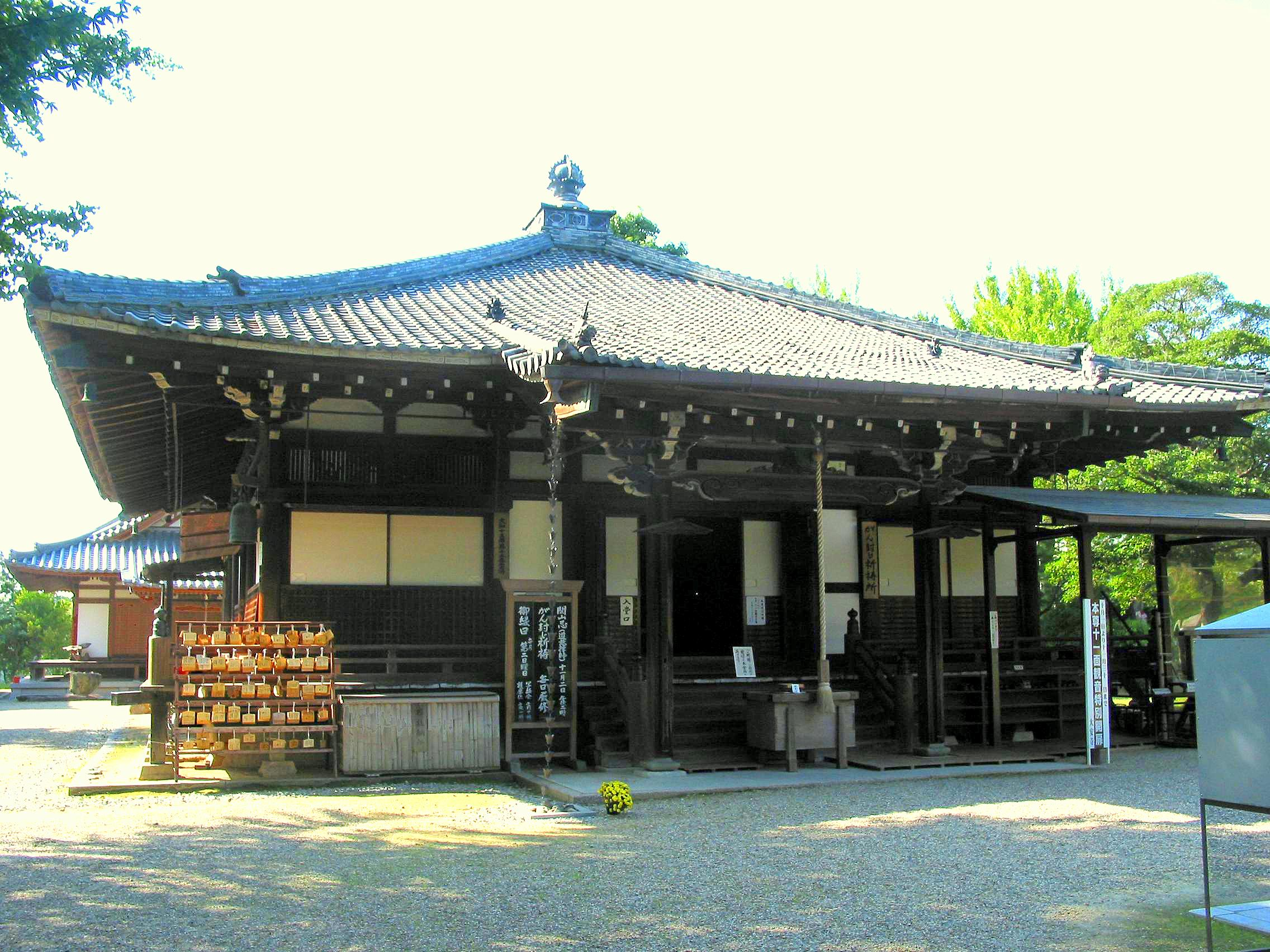 Daian-ji Hondō at Nara, Nara Pref., Japan.