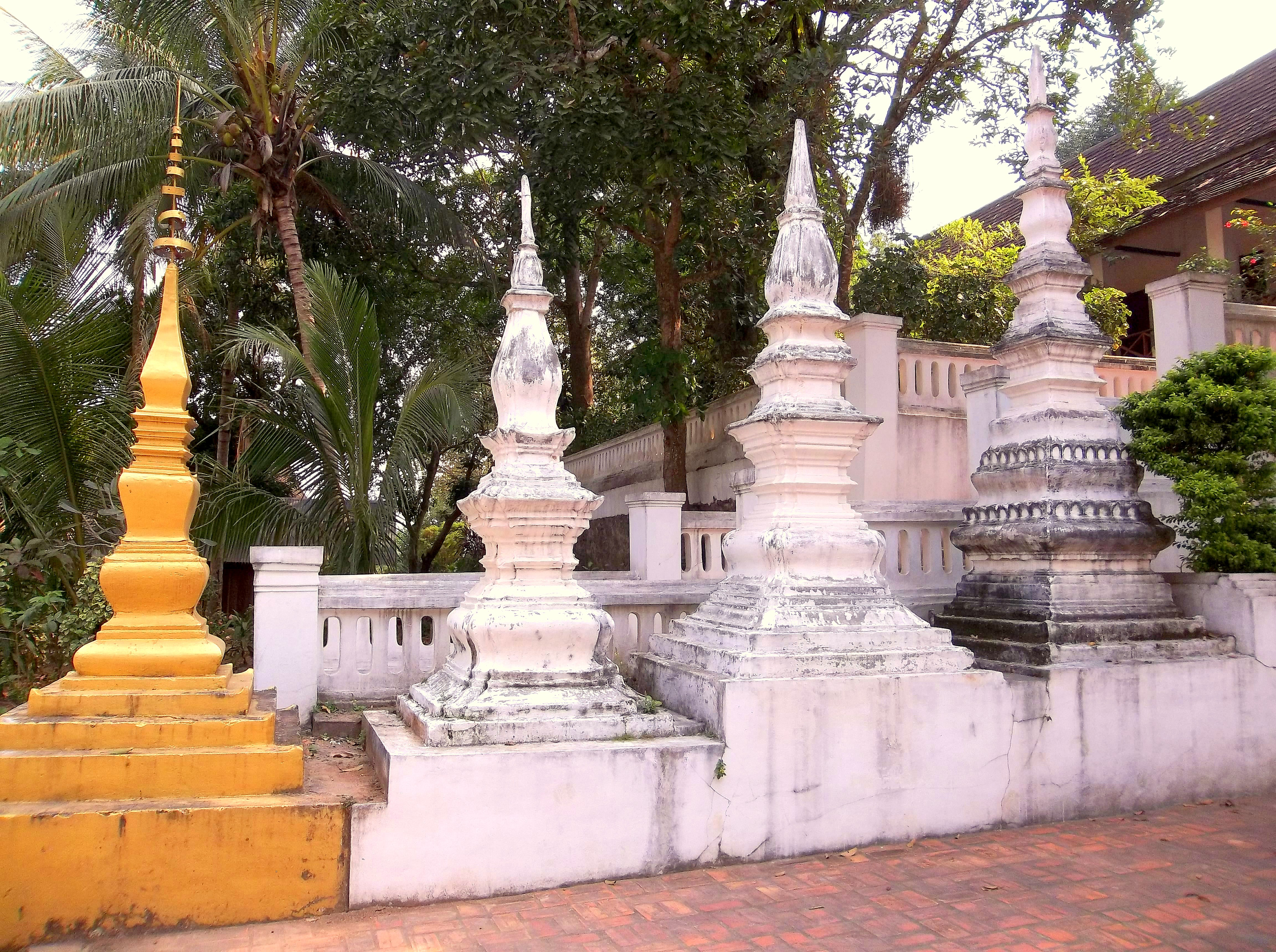 Vat Siphoutthabat Thippharam - in the Forest - Luang Prabang, Laos
